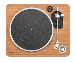 Gramofon retro MARLEY Stir It Up - Signature Black POUŽITÉ, NEOPO