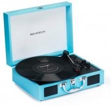Gramofon Ricatech RTT21 Advanced  Turquoise Blue