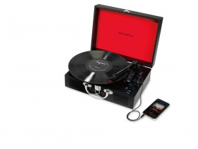 Gramofon Ricatech RTT25, černý