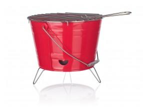 Gril Bucket (červená)