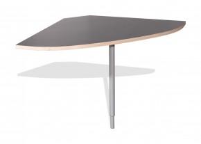 GW-Duo - spojovací roh stolu (antracit 1688)