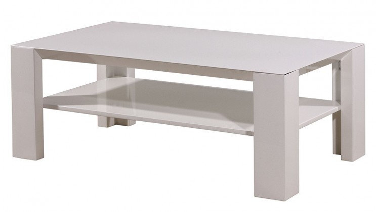 GW-Fino - Konferenční stolek (bílá)