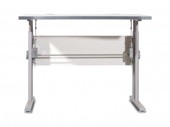 GW-Profi-Stůl,výškově stavitelný,šířka 100cm (světle šedá)