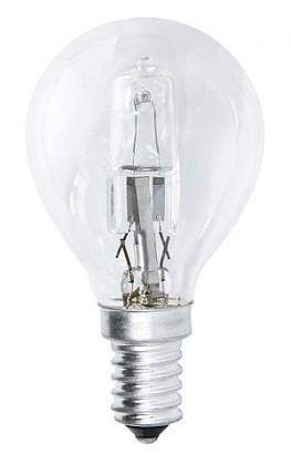 Halogenové žárovky Halogenová žárovka ECO MINI GLOBE P45 E14 28W