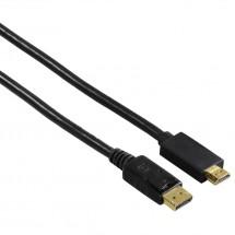 Hama kabel DisplayPort - HDMI, UHD/4K, 1,8 m