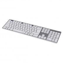 Hama klávesnice Rossano, bíla/stříbrná POUŽITÉ, NEOPOTŘEBENÉ ZBOŽ