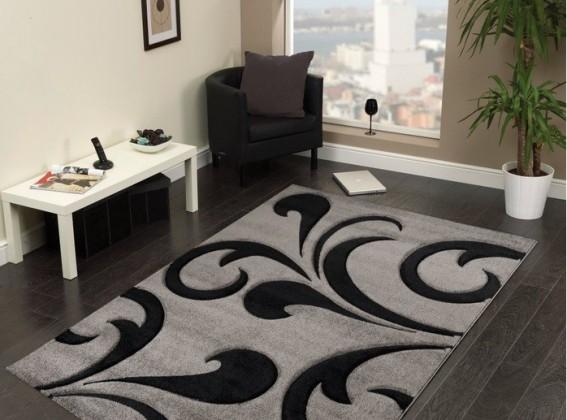 Hawaii - koberec, 290x200cm (100%PP friese, šedá)