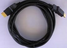 HDMI kabel MK Floria, otočné konektory, 2.0, 1,8m