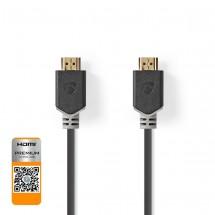 HDMI kabel Nedis CVBW34050AT20, vysokorychlostní, 2.0, 2m