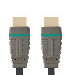 HDMI kabely HDMI kabel Bandridge BVL1201, 1.4, 1m