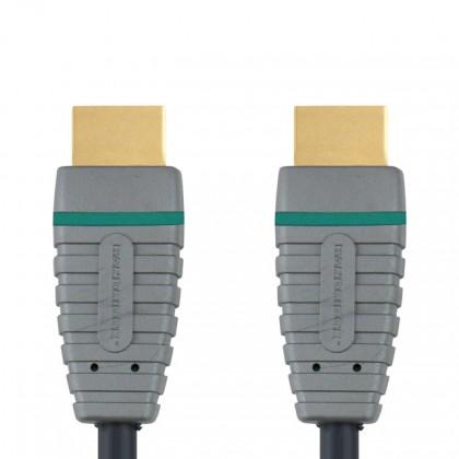 HDMI kabely HDMI kabel Bandridge BVL1203, 1.4, 3m