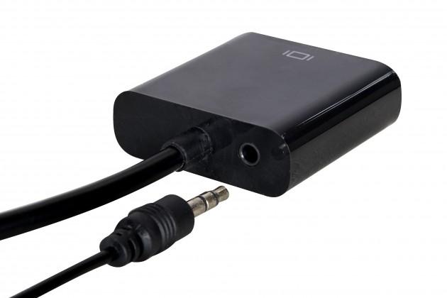 HDMI/VGA(D-SUB)+výstup audio3,5mm Jack 0,2 m