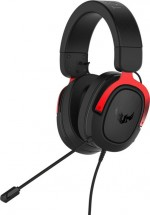 Headset Asus TUF GAMING H3, červený