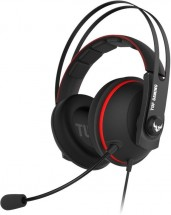 Headset Asus TUF GAMING H7 CORE, červený