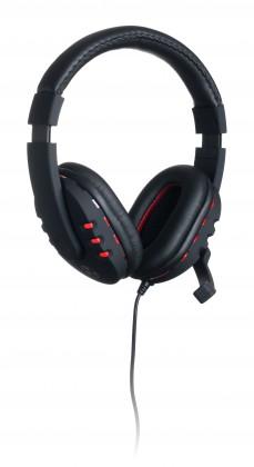 Headset, náhlavní souprava Connect IT BATTLE USB sluchátka s mikrofonem GH1000
