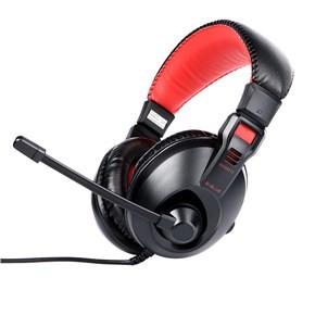 Headset, náhlavní souprava E-Blue Conqueror I., sluchátka s mikrofonem, černá, 3.5mm konekto
