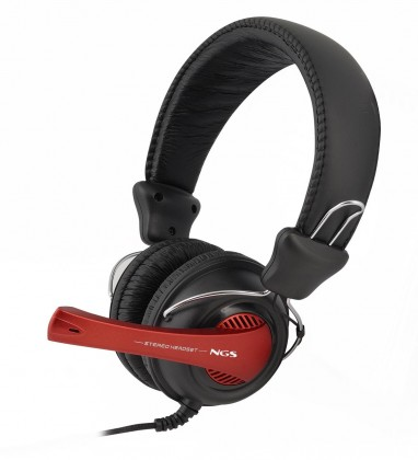 Headset, náhlavní souprava NGS headset VOX 360DJ