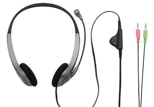 Headset, náhlavní souprava TRUST Sluchátka s mikrofonem InSonic Chat Headset