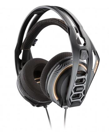Headset Plantronics RIG 400 PRO, černá