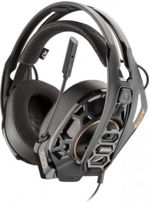 Headset Plantronics RIG 500 PRO HC DOLBY Atmos, černá