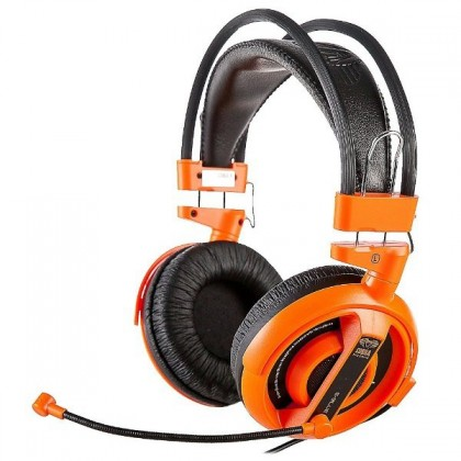 Herní E-Blue Cobra I,herní sluchátka s mikrofonem,oranžová (EHS013OG)