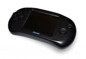 Herní gamepad Denver GMP-240C, 2,4  obrazovka,150 her, černá