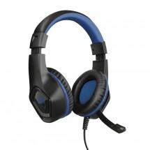 Herní headset Trust GXT 404B Rana, pro PS4, černo-modrá