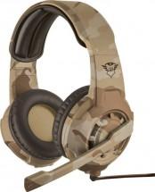 Herní headset Trust GXT310D Radius, desert camo