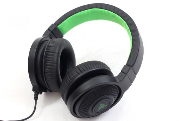 Herní Herní sluchátka Razer Kraken Black, černá
