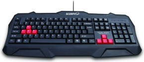 Herní klávesnice AQ Galaxy 6GGK01SC
