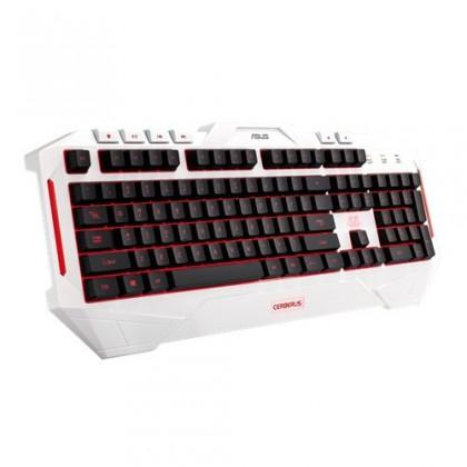 Herní klávesnice ASUS keyboard Cerberus ARCTIC Keyboard CZ/SK
