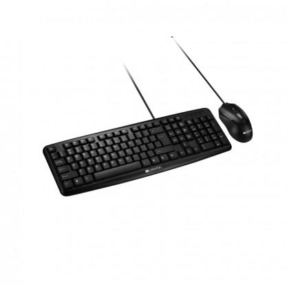 Herní klávesnice Canyon CNE-CSET1-CZ set standardní klávesnice + optická myš