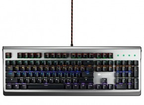 Herní klávesnice Canyon INTERCEPTOR, mechanická, drátová, US lay + Zdarma podložka Olpran