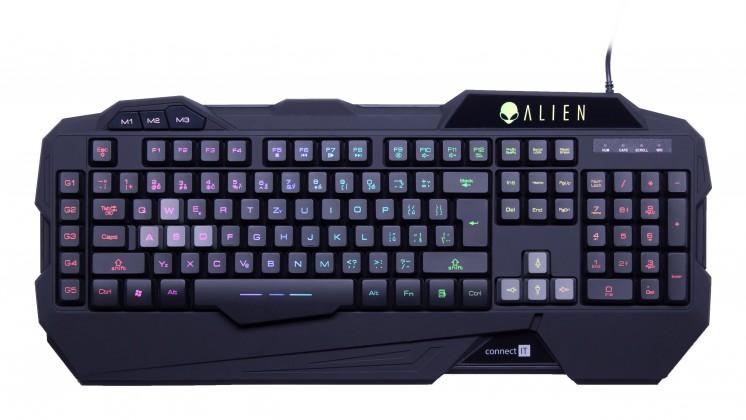 Herní klávesnice CONNECT IT klávesnice pro hráče