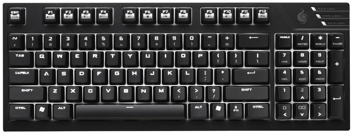 Herní klávesnice COOLERMASTER STORM klávesnice Quickfire TK-soft click, US verze