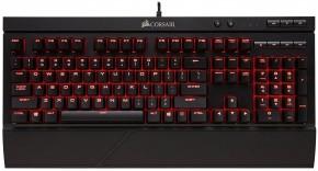 Herní klávesnice Corsair K68 podsvícení červené MX Red