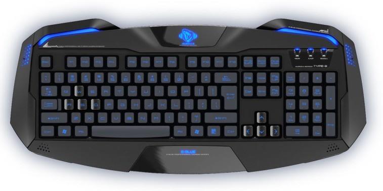 Herní klávesnice E-Blue Auroza Keyboard YCEBUG71BC