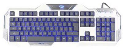 Herní klávesnice E-BLUE Auroza klávesnice bílá (YCEBUG79TU)