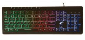 Herní klávesnice EVOLVEO GK640, podsvícená, černá