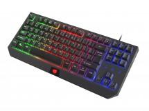 Herní klávesnice FURY Hurricane TKL rainbow
