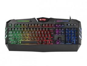 Herní klávesnice FURY Spitfare backlight, US layout, černá