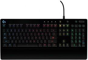 Herní klávesnice LogitechŽ G213 Prodigy, US layout, černá