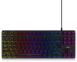 Herní klávesnice Niceboy ORYX K300X, CZ, černá