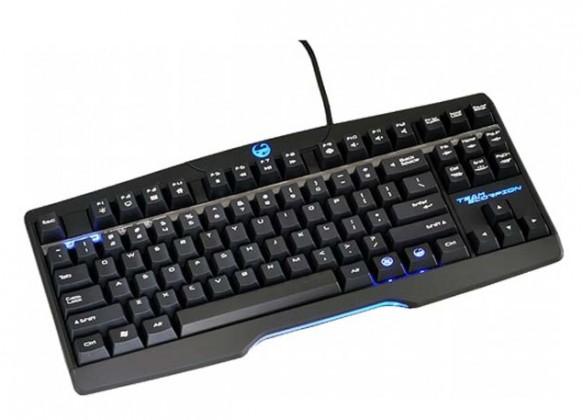 Herní klávesnice Team Scorpion Zero USB, černá