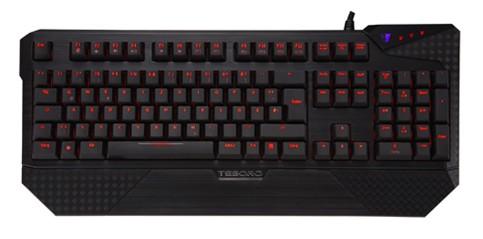 Herní klávesnice Tesoro Durandal Ultimate G1NL Cherry MX Red USB CZ+SK, červená