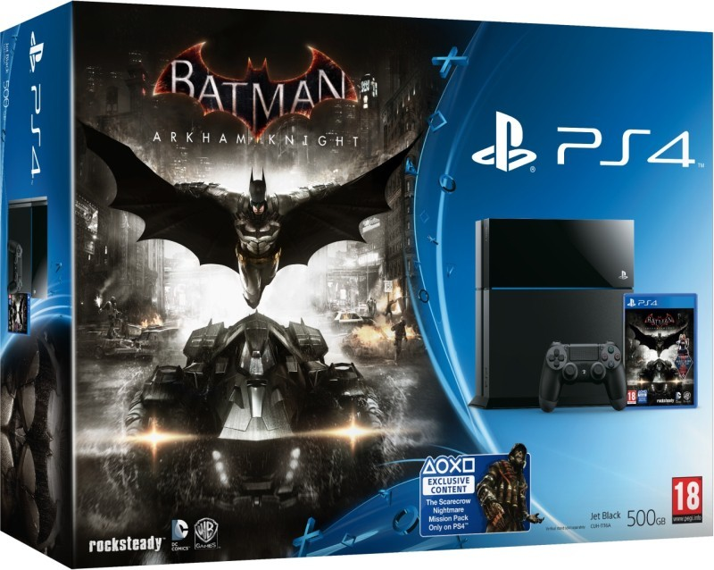 Herní konzole PlayStation 4 Batman Arkham Knight/PS4 500GB B/EXP