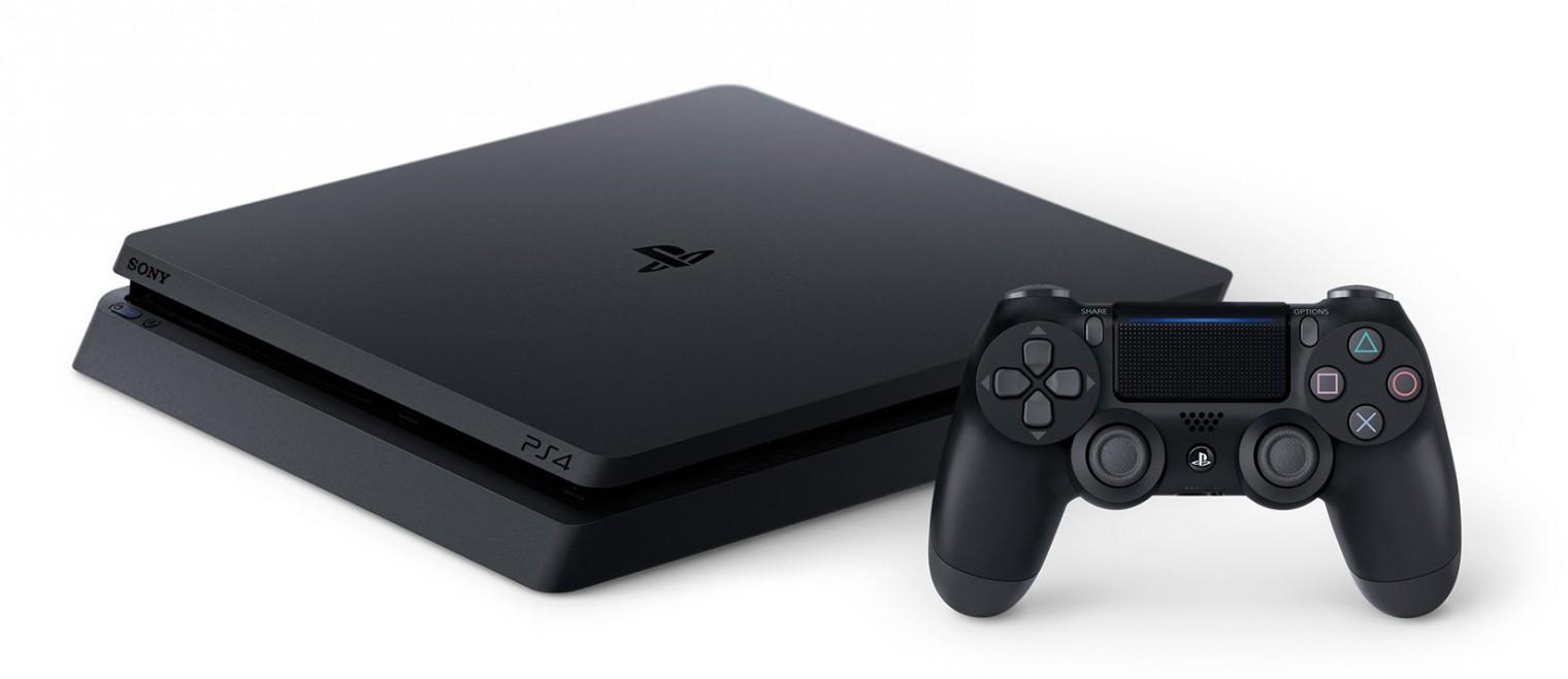Herní konzole PlayStation 4 Herní konzole Sony PlayStation 4 SLIM 500GB černá (PS719407775)