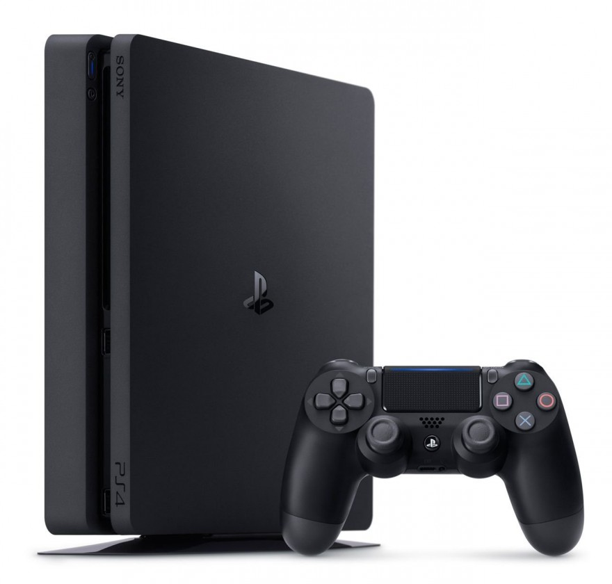 Herní konzole PlayStation 4 PlayStation 4 Slim, 500GB, černá PS719866268