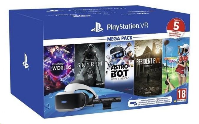 Herní konzole PlayStation 4 PlayStation VR Mega Pack 2 (PS VR + Kamera + 5 her)