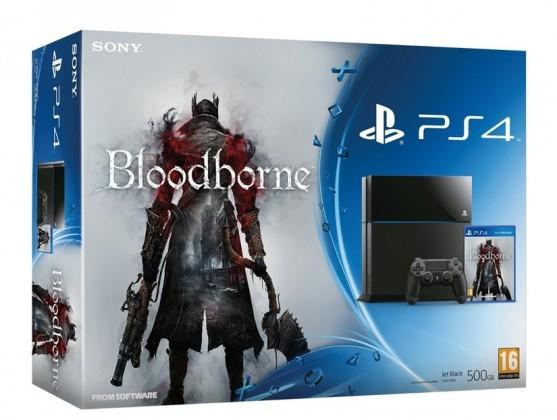 Herní konzole PlayStation 4 SONY PlayStation 4 - 500GB - černý + Bloodborne